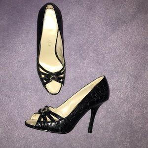 Shoes - Black heels. Size 7